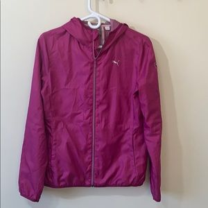 PUMA pink little coat